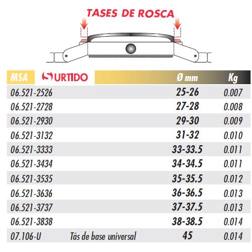 HOROTEC Surtido de Tases MSA 07.106